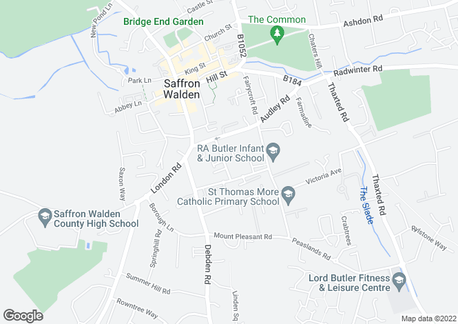 Map for Custerson Court, Station Street, Saffron Walden, CB11 3HF