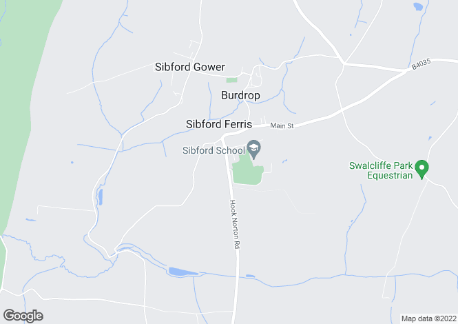 Map for Field Barn, Sibford Ferris, OX15