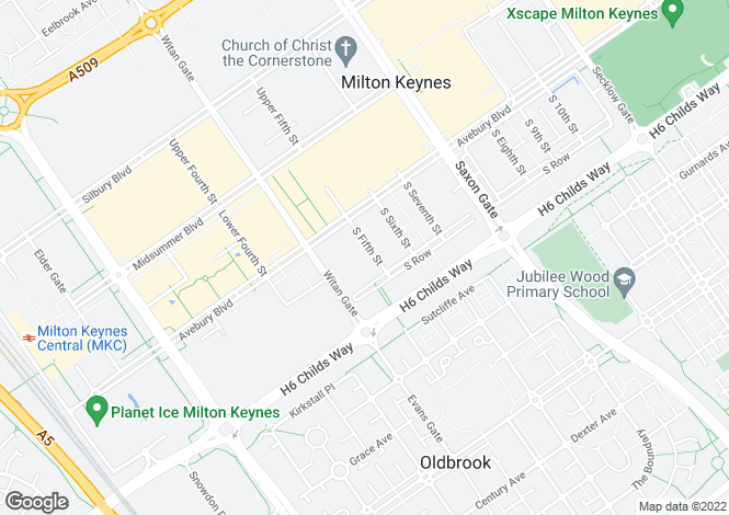 Map for Vizion