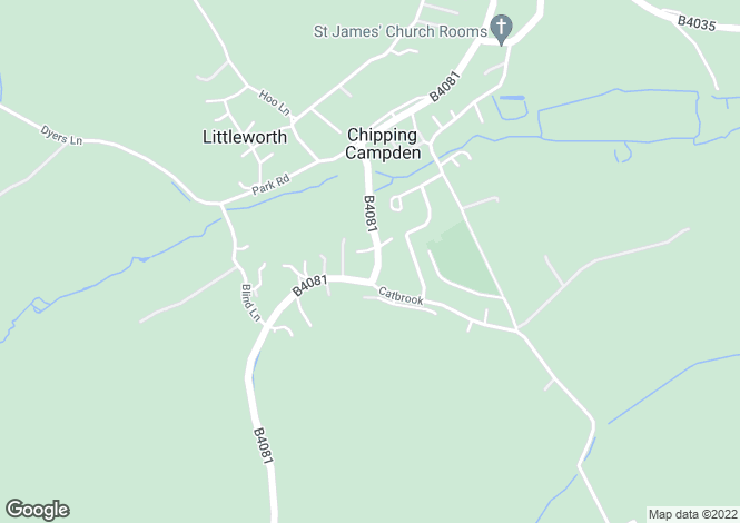 Map for CHIPPING CAMPDEN