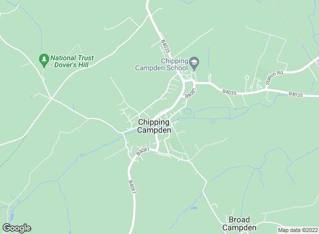 Map for Andrew Greenwood, Chipping Campden
