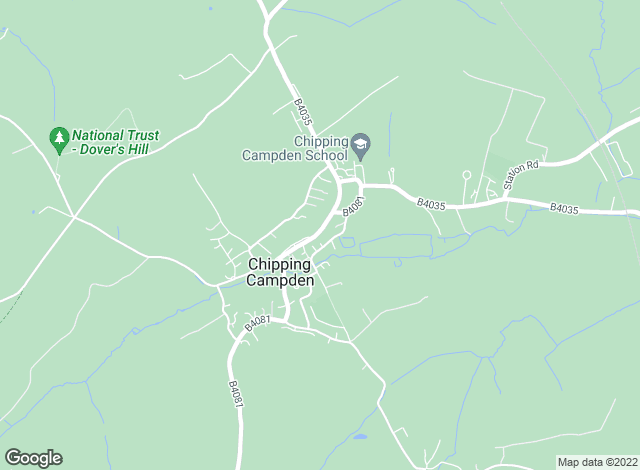 Map for Mark Annett & Company, Chipping Campden