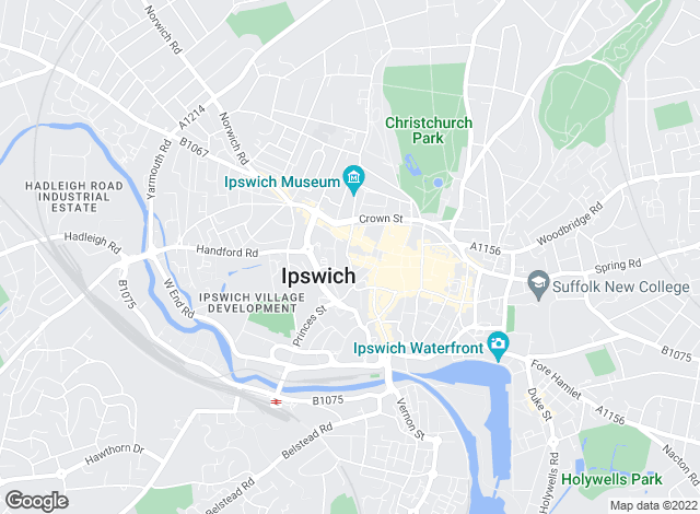 Map for Woodcock & Son, Ipswich