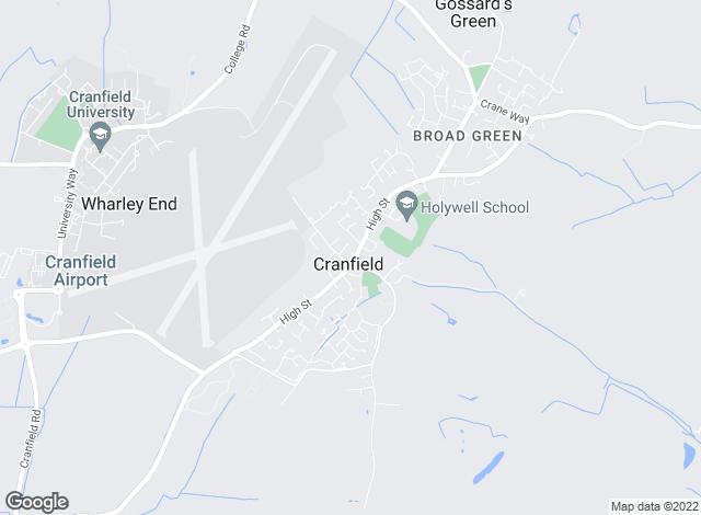Map for Daniels Estate Agents, Cranfield