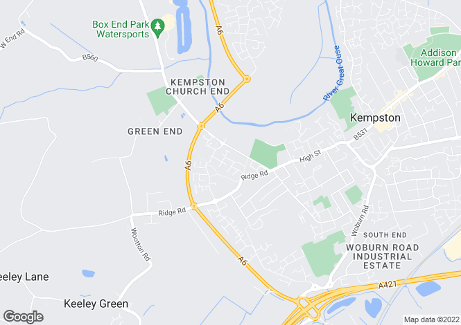 Map for Woodbridge at Cygnet Mews, Crowsley Road,