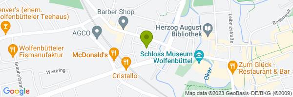 Standort Kirche St. Johannis, Wolfenbüttel