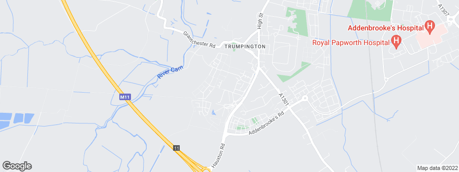 Map for Trumpington Meadows development by Barratt Homes