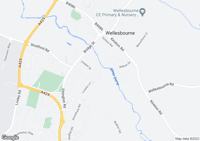 Map for Chapel Street,
