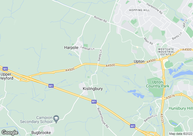 Map for Banbury Lane, Banbury Lane, Kingslingbury