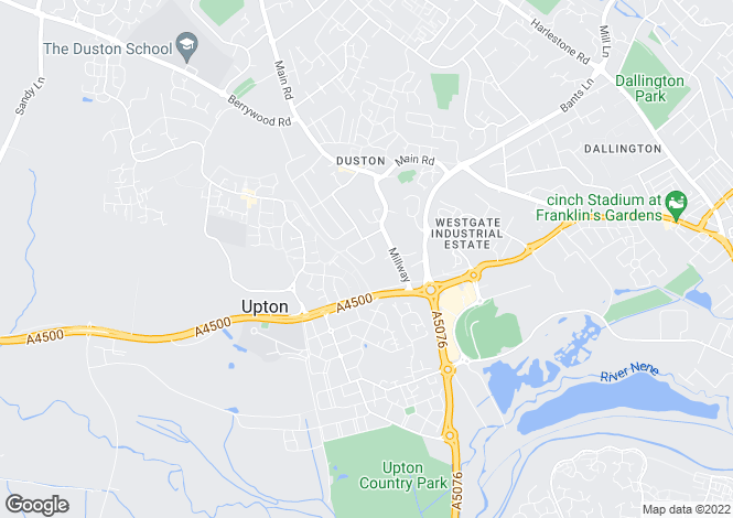 Map for The Scarplands, Duston Village, Northampton NN5 6EY