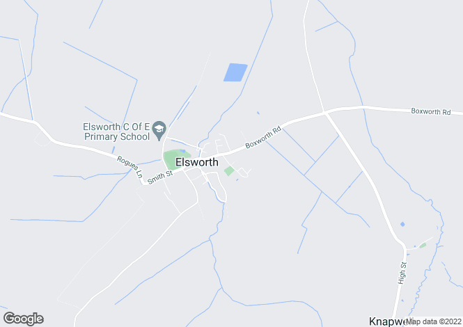 Map for The Drift,  Elsworth