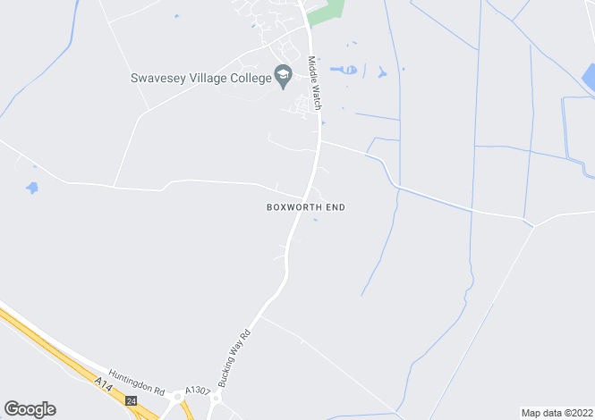 Map for Boxworth End, Swavesey, CAMBRIDGE