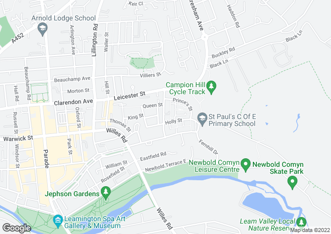 Map for Merchant Court, Campion Terrace, LEAMINGTON SPA, Warwickshire
