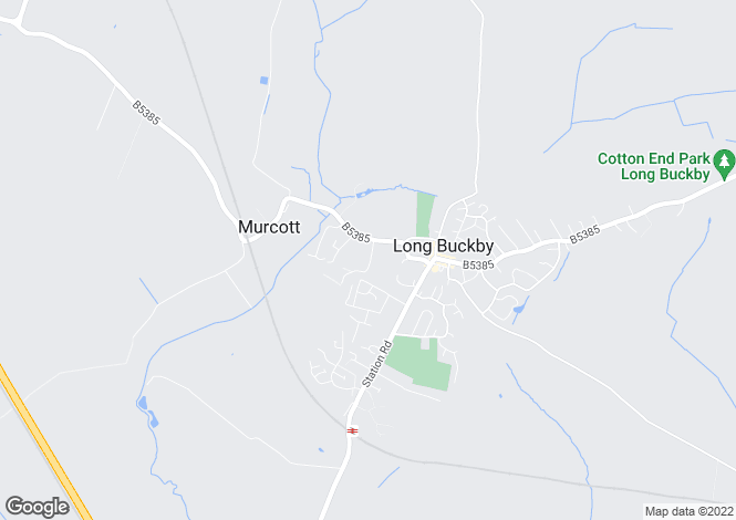 Map for Harbidges Lane, Long Buckby