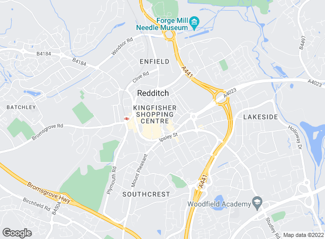 Map for Lamberts, Redditch