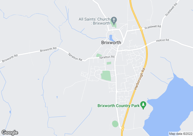 Map for HONEY HOLME, BRIXWORTH