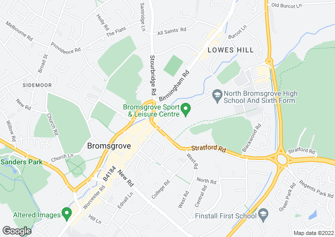 Map for Housman Park,