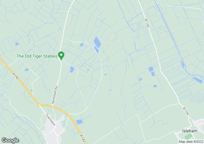 Map for Hasse Road, Soham, Ely