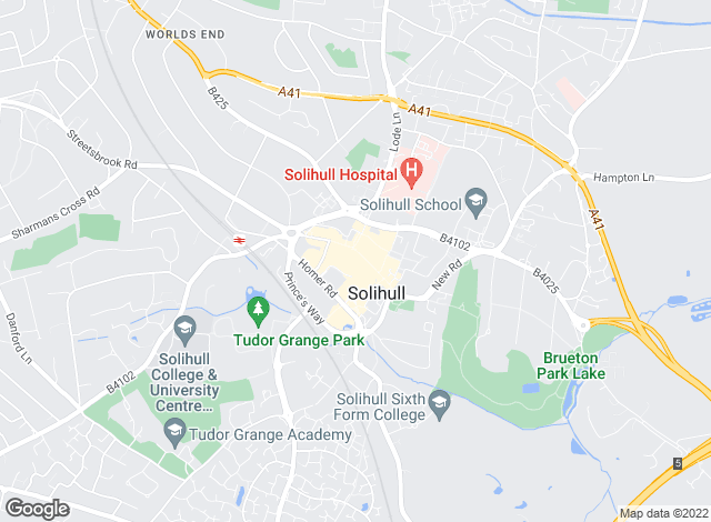 Map for Xact Homes, Solihull