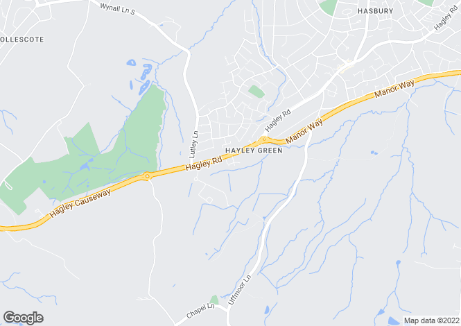 Map for The Shire House, Waugh Drive, Hayley Green, Halesowen, West Midlands