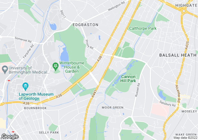Map for Pavenham Drive, BIRMINGHAM, West Midlands