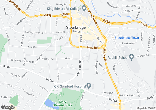 Map for STOURBRIDGE - Red Admiral Apartments
