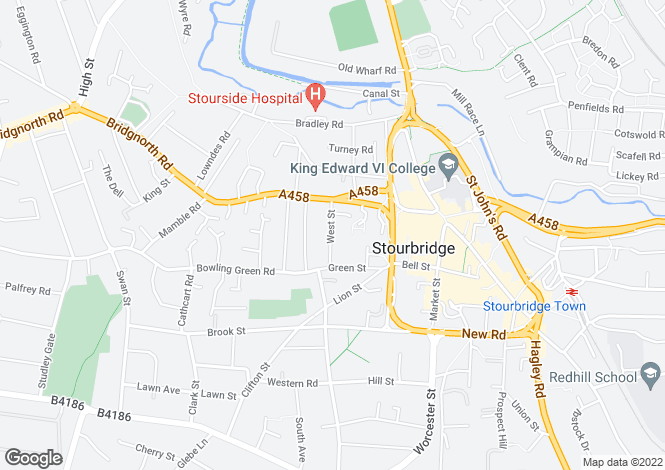 Map for West Street, Stourbridge, West Midlands