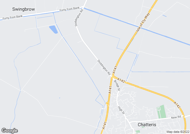Map for Chatteris Heights, Albert Way, Chatteris, Cambridgeshire