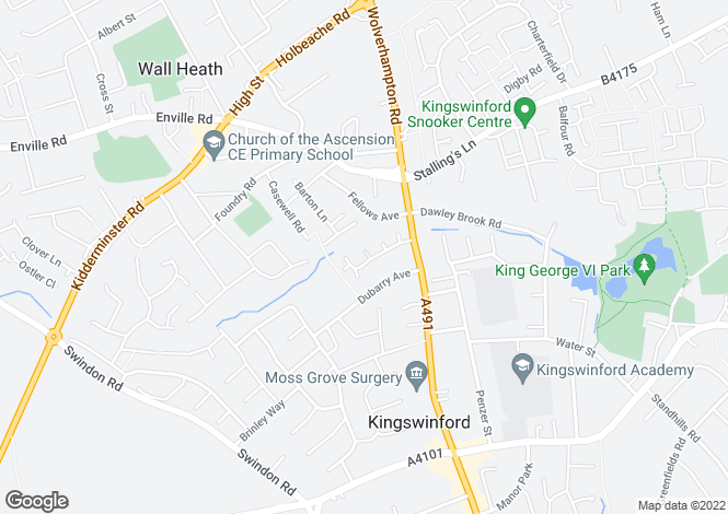 Map for Murdoch Drive,