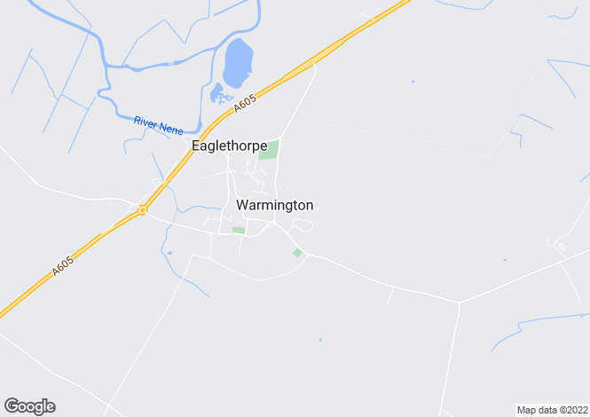Map for Big Green, Warmington, PETERBOROUGH