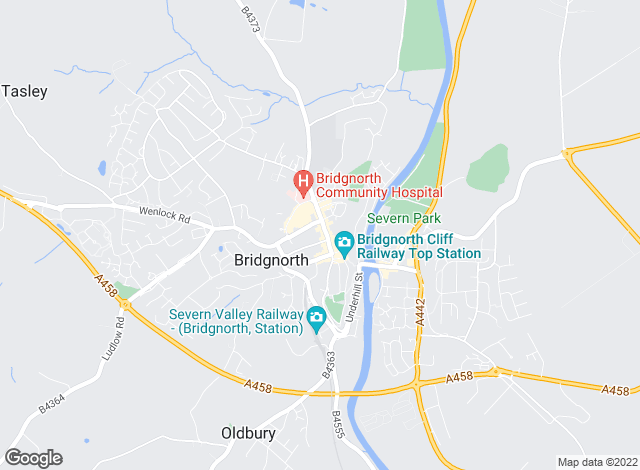Map for EasyLet (Midlands) Ltd, Bridgnorth