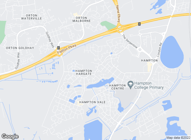 Map for Sharman Quinney, Hampton