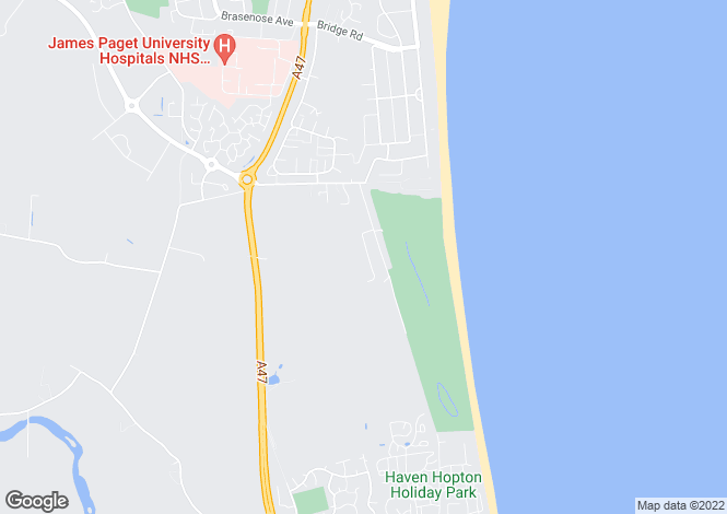 Map for Kennel Loke, Gorleston, Great Yarmouth, NR31