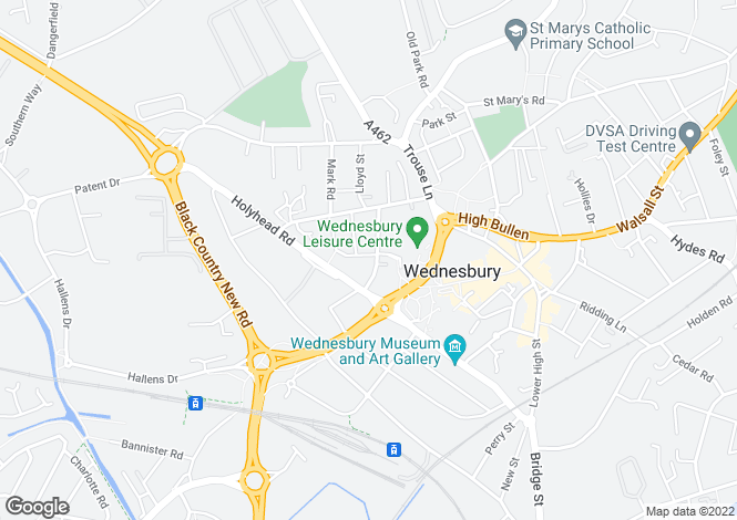 Map for KNIGHTON at Monarchs Gate, King Street,