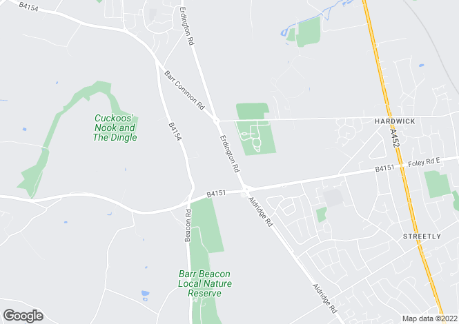 Map for 367 Erdington Road, Streetly/Aldridge,Aldridge/Streetly,Walsall