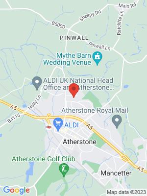 Location Map of Christine Deborah Jones