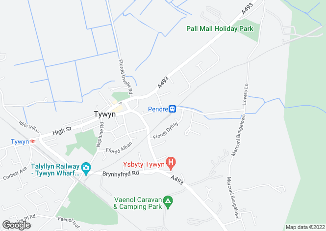 Map for Frankwell Close,