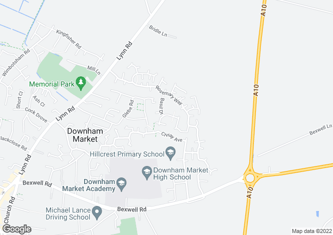 Map for Coriander Road,