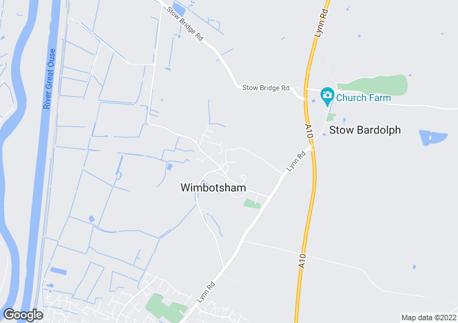 Map for Wimbotsham