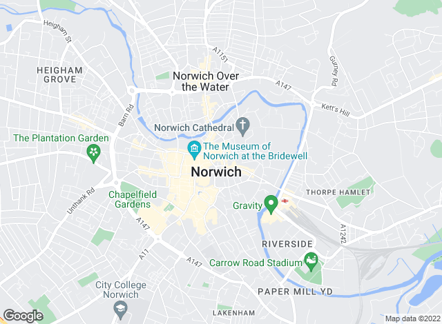 Map for Shipmans, Norwich
