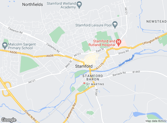 Map for Murray Estate Agents & Chartered Surveyors., Stamford