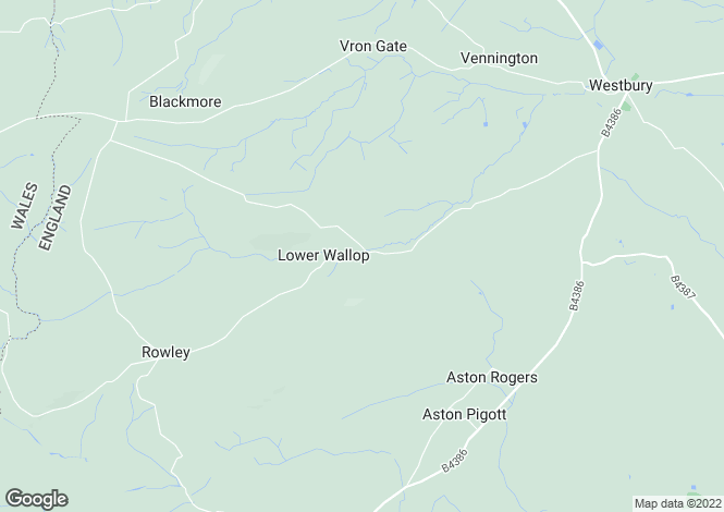 Map for Westbury, Wallop Westbury, Shropshire