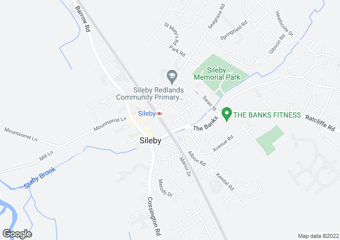 Map for Moir Close, Sileby, Leicester LE12 7RN