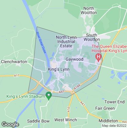 Map of property in King's Lynn