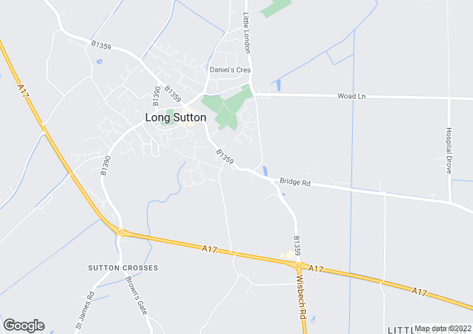 Map for Long Sutton