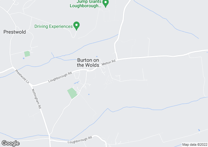Map for St Phillips Road, Burton-on-the-Wolds