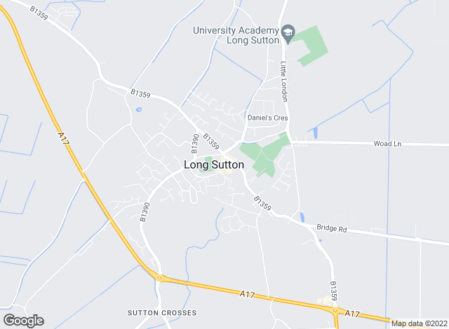 Map for Fenland Estates Ltd, Long Sutton