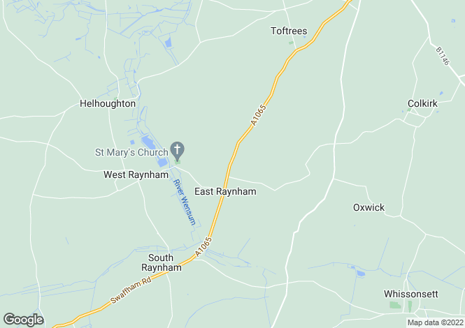 Map for Land at East Raynham, North Norfolk, Nr Fakenham, Norfolk, NR21 7EH