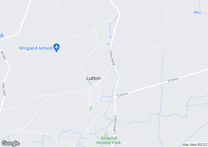 Map for Lutton,