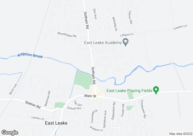 Map for MOORECROFT at Heavens Grange, Gotham Road,